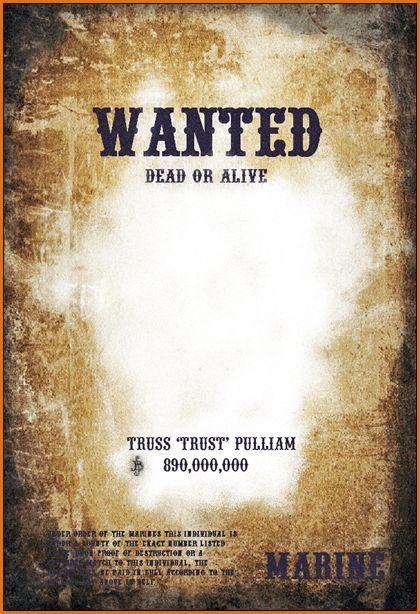 10+ wanted poster template microsoft word | Job Resumes Word