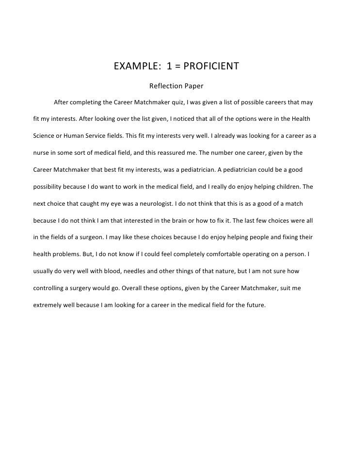 Example English Essay