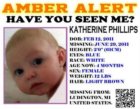 Katherine Phillips, Missing Ludington Michigan, http://www ...