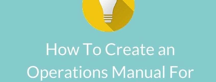 Business Manual Templates [Template.billybullock.us ]