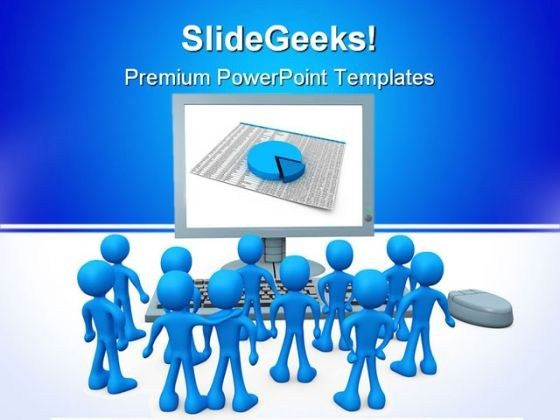 On Screen Presentation Business PowerPoint Templates And ...