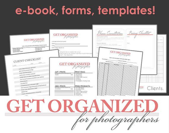 DesignOrganized!: Get Organized FOR PHOTOGRAPHERS Photography ...