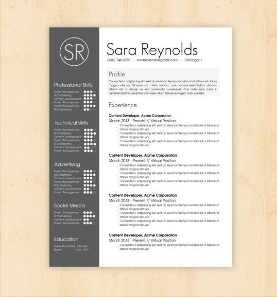 free resume template microsoft word. exciting sample resume format ...
