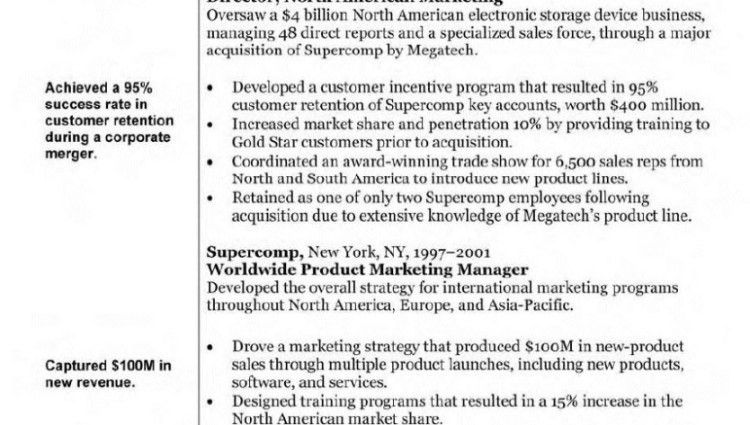 marketing manager resume objective Marketing Resume Objective ...