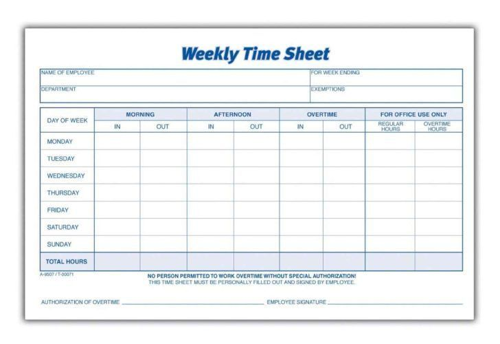 Sample Volunteer Timesheet Templete. Free Blank Time Sheets Time ...