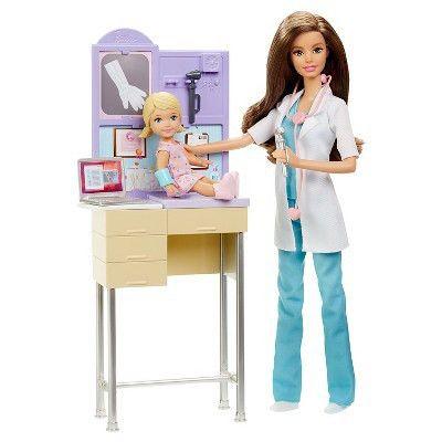 Barbie Careers Pediatrician Doll & Playset : Target