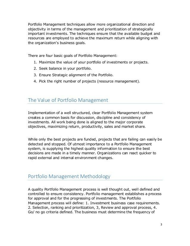 Using Portfolio Management to Improve Business Investment