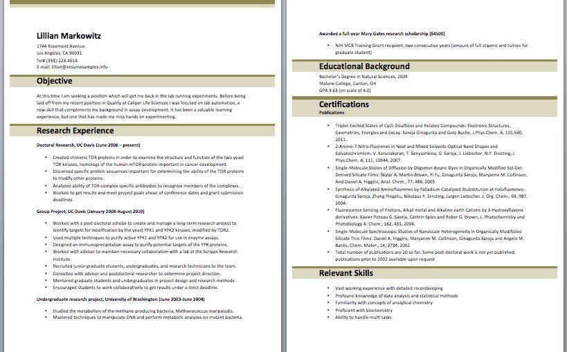 Sample Recruiter Resume – Sample Resumes