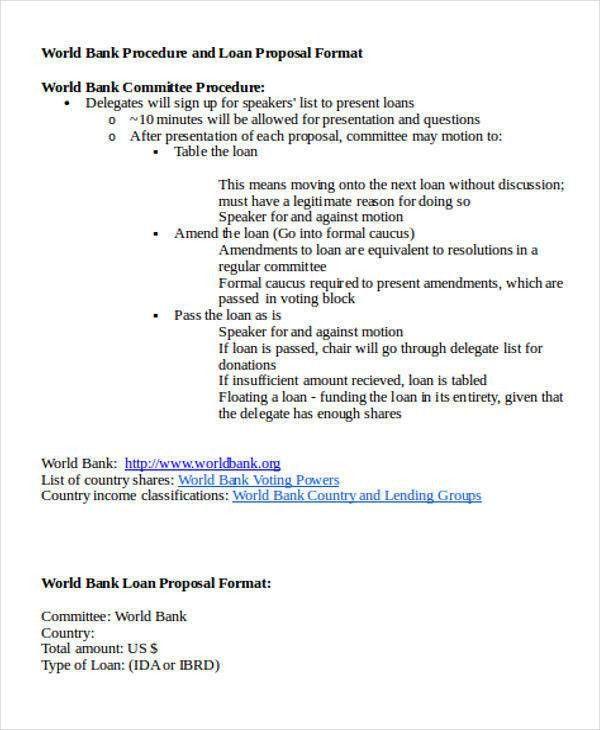 Loan Proposal Sample. Call Center Business Proposal Sample .