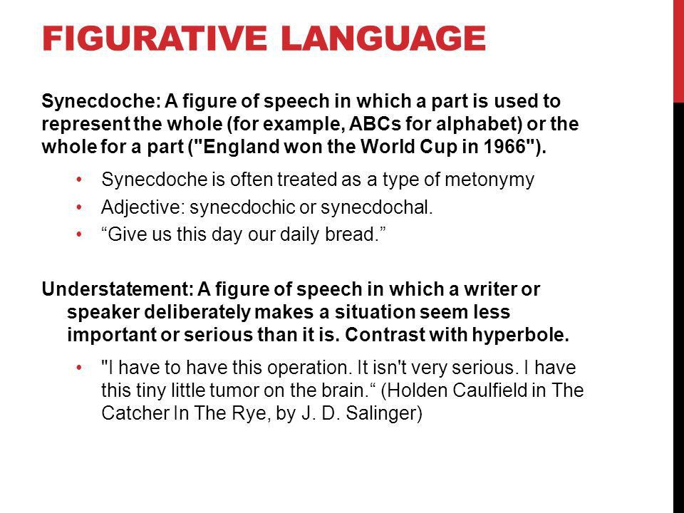 FIGURATIVE LANGUAGE. TYPES OF FIGURATIVE LANGUAGE Alliteration ...