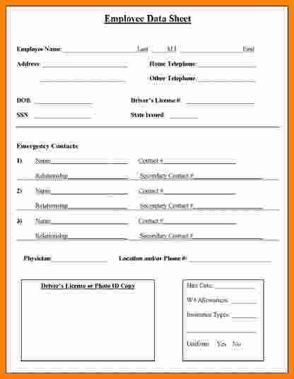 Information Sheet Template Word. Vendor Information Form Vendor ...