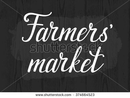 Farmers Market Chalkboard Stock Images, Royalty-Free Images ...
