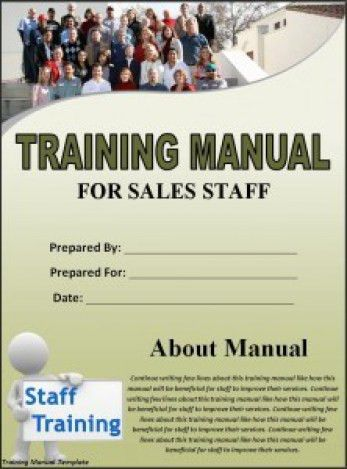 Top 5 Resources To Get Free Training Manual Templates - Word ...