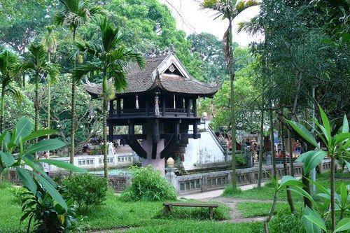 One Pillar Pagoda, the most unique architecture – Travel ...