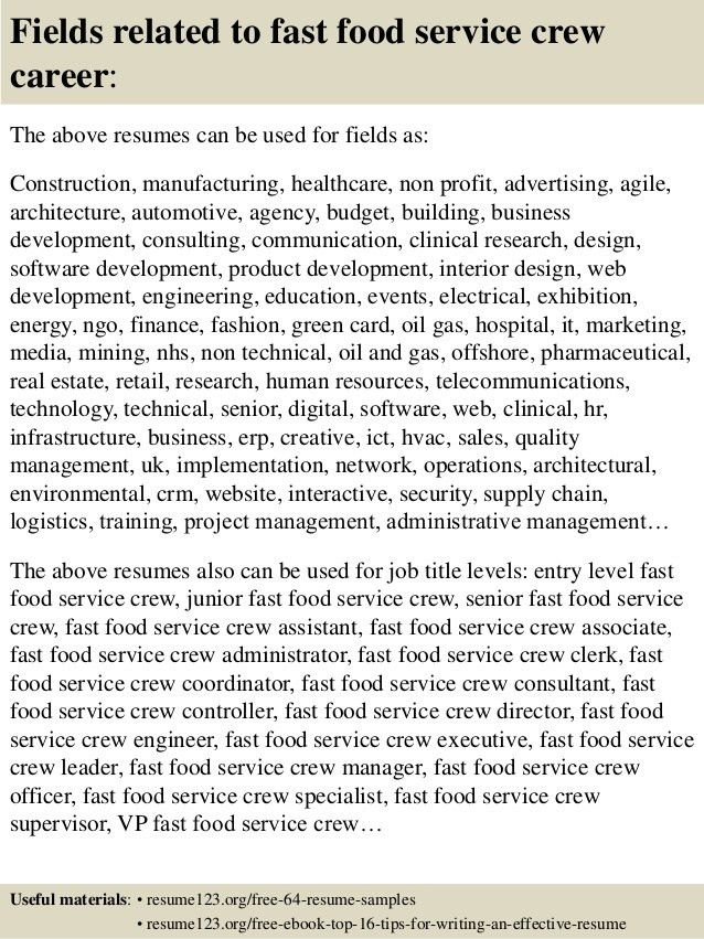 resumes for food service general manager resume sample customer ...