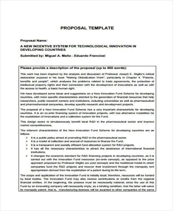 10 Company Proposal Templates - Free Sample, Example Format ...