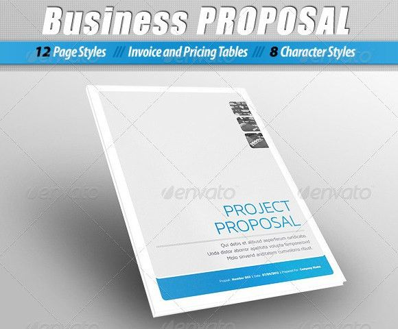 Free Proposal Template. Business Proposal Template 10+ Marketing ...
