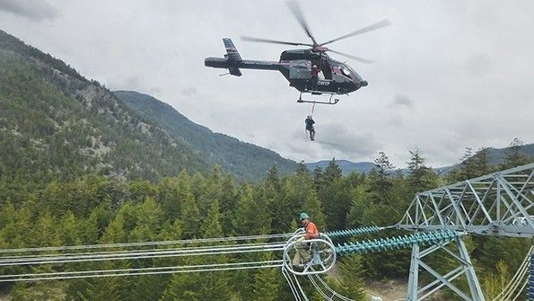 BC Hydro Overhauls Helicopter Operations | TDWorld