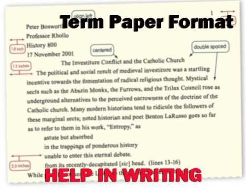 Expertly-Researched Term Paper Examples--