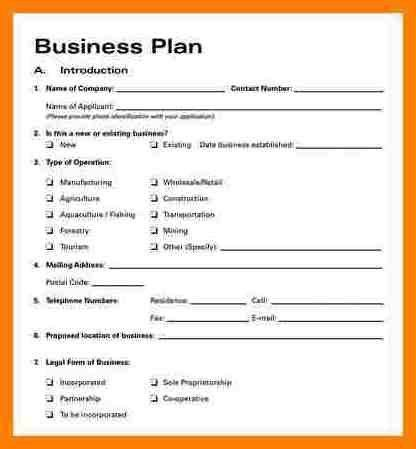Business Plan Format. Event Business Plan Template Download In ...
