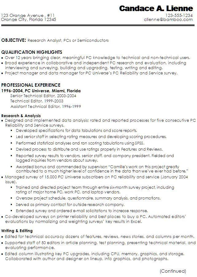 10 best resumes images on Pinterest | Cover letters, Resume and ...