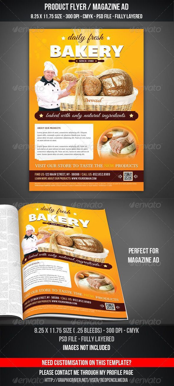 82 best Flyer templates PSD with QR code images on Pinterest | The ...