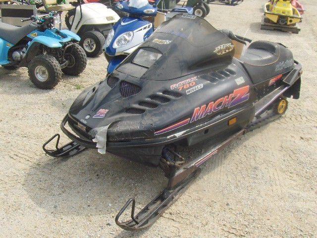 1994 SKI DOO 780 MACH Z 38990076794 snowmobile, sold with a bill ...
