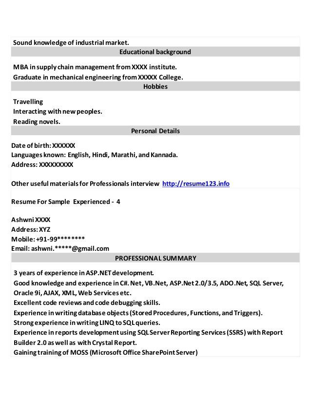 targeted resume example targeted resume summary of qualifications ...