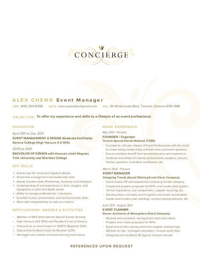 Concierge Resume - uxhandy.com