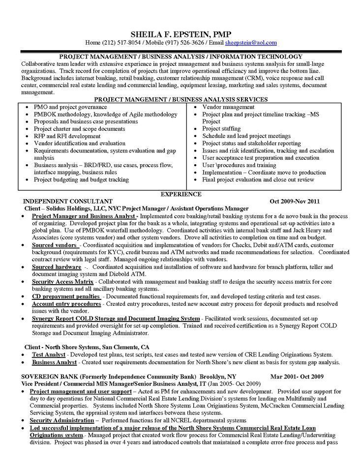 Sample Data Analyst Resume - Template Examples