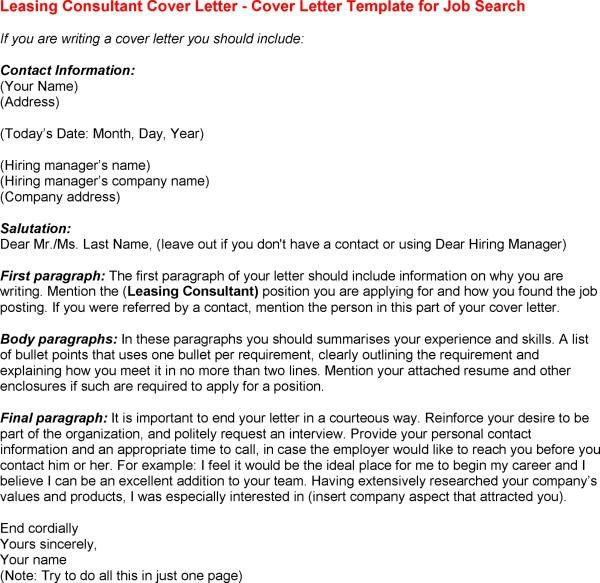 How To Write A Cover Letter For Recruitment Consultant With ...