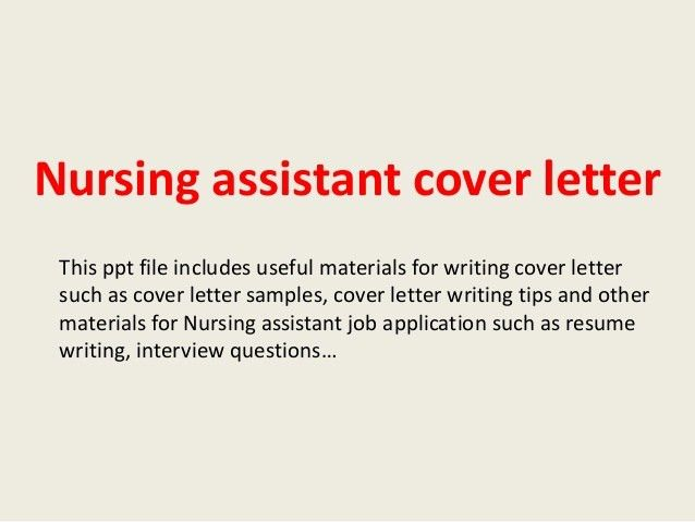 sample cover letter for cna sample cover letter for cna makemoney ...
