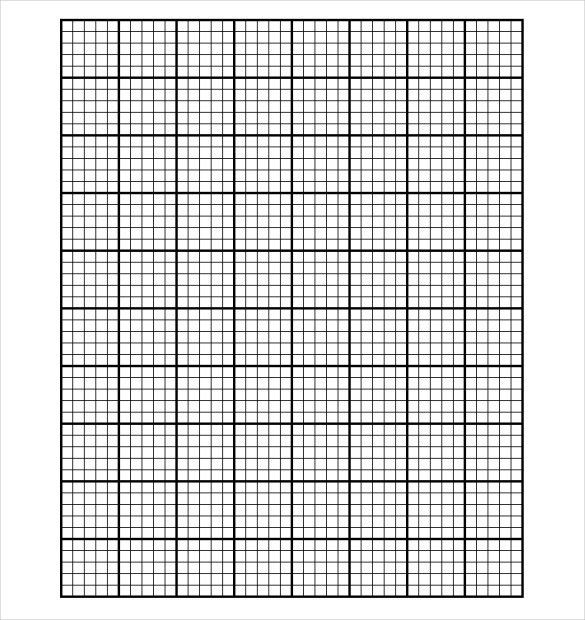 12+ Grid Paper Templates – Free Sample, Example, Format Download ...