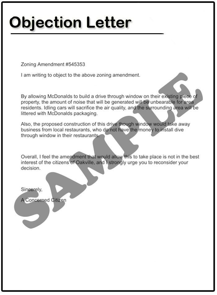 How to write an Objection Letter | Samples