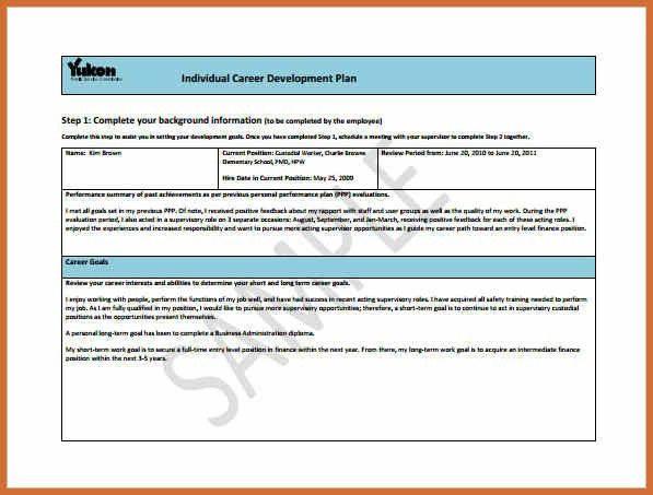 career development plan template | cv examples word