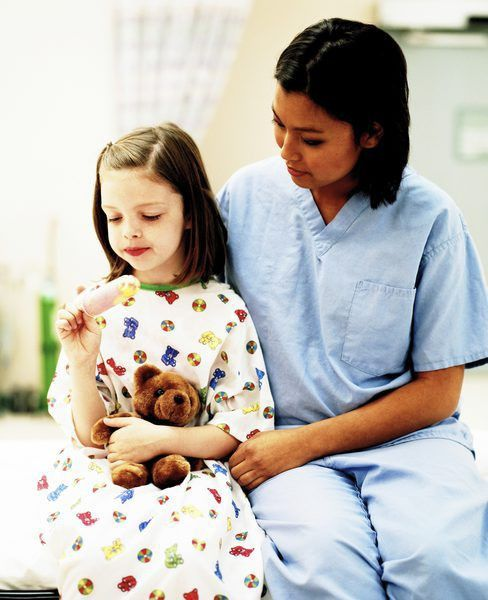 Job Description of a Pediatric Oncology Nurse - Woman