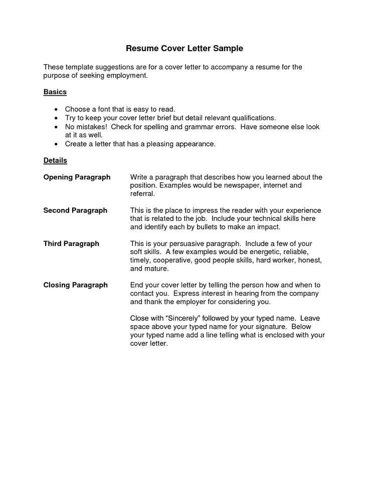 Best 20+ Resume cover letter examples ideas on Pinterest | Cover ...