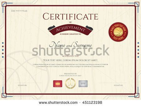 Certificate Of Achievement Stock Images, Royalty-Free Images ...