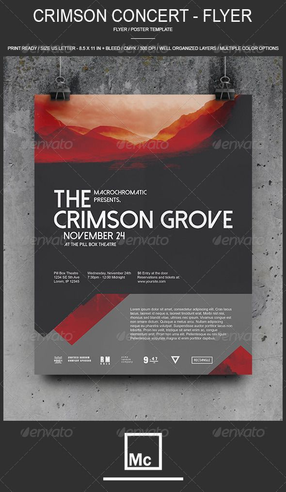 51 best Flyer Layouts images on Pinterest | Poster, Poster designs ...