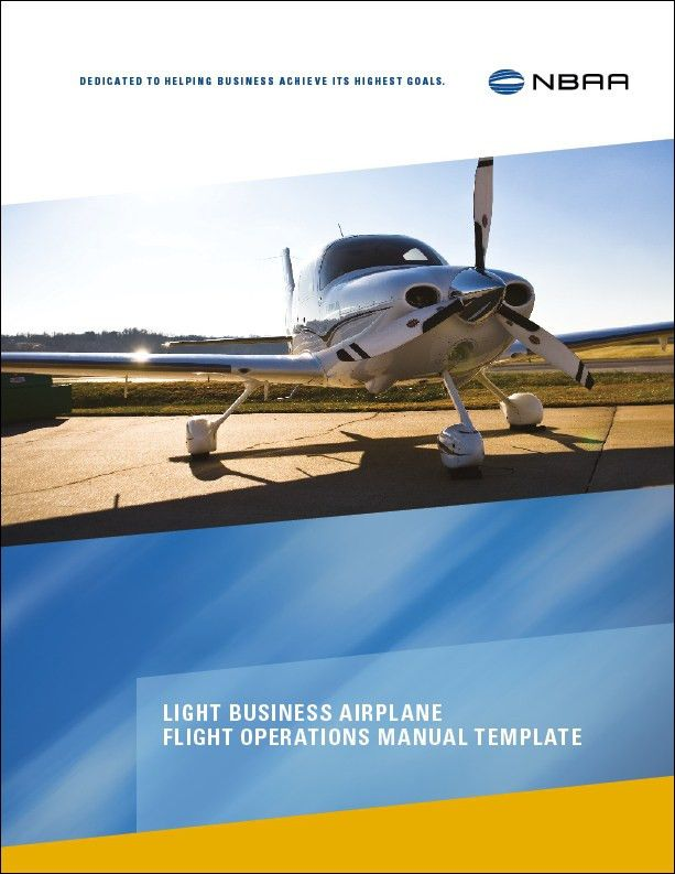 LBA Flight Operations Manual Template | NBAA - National Business ...