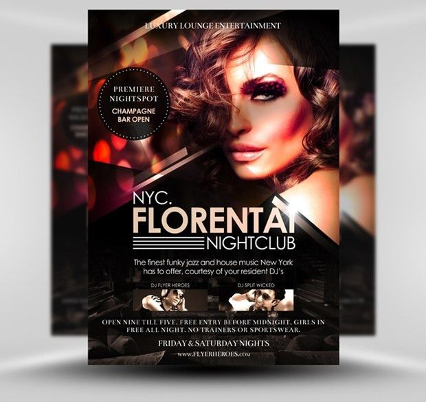 Club Flyer Templates | peerpex
