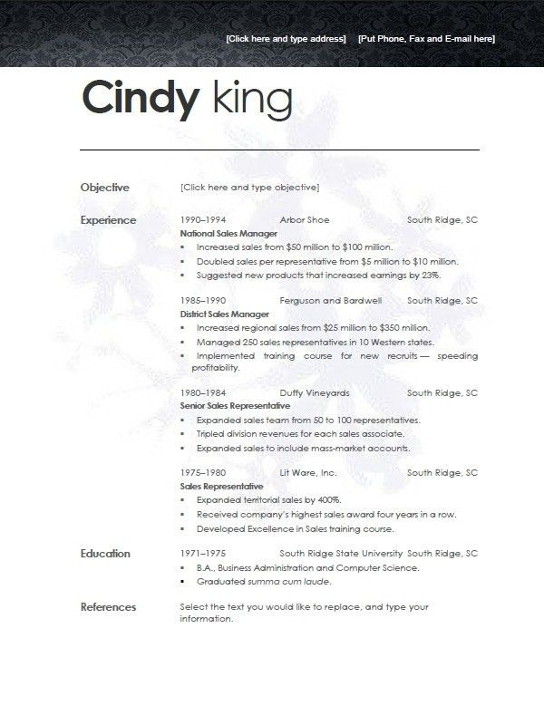 Lofty Design Resume Templates For Openoffice 5 Freeresume Template ...