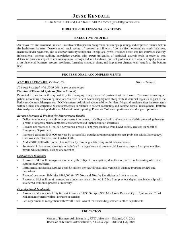 Perfect Financial Planning Resume Objectives About Entry Level
