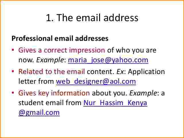 7+ how to write a professional email | bibliography format