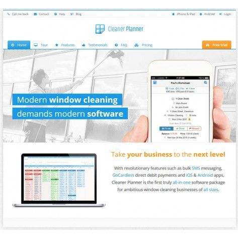 Cleaner Planner - Round Software - Free 30 Day Trial Gardiner Pole ...