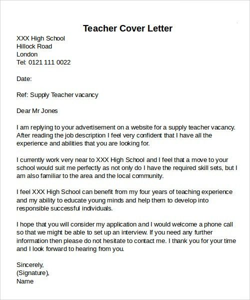 Sample Cover Letter Examples - 12+ Free Download Documents in PDF ...