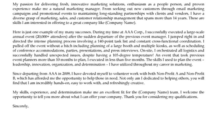 marketing cover letter 2016 Resume Rocketeer - Writing Resume ...