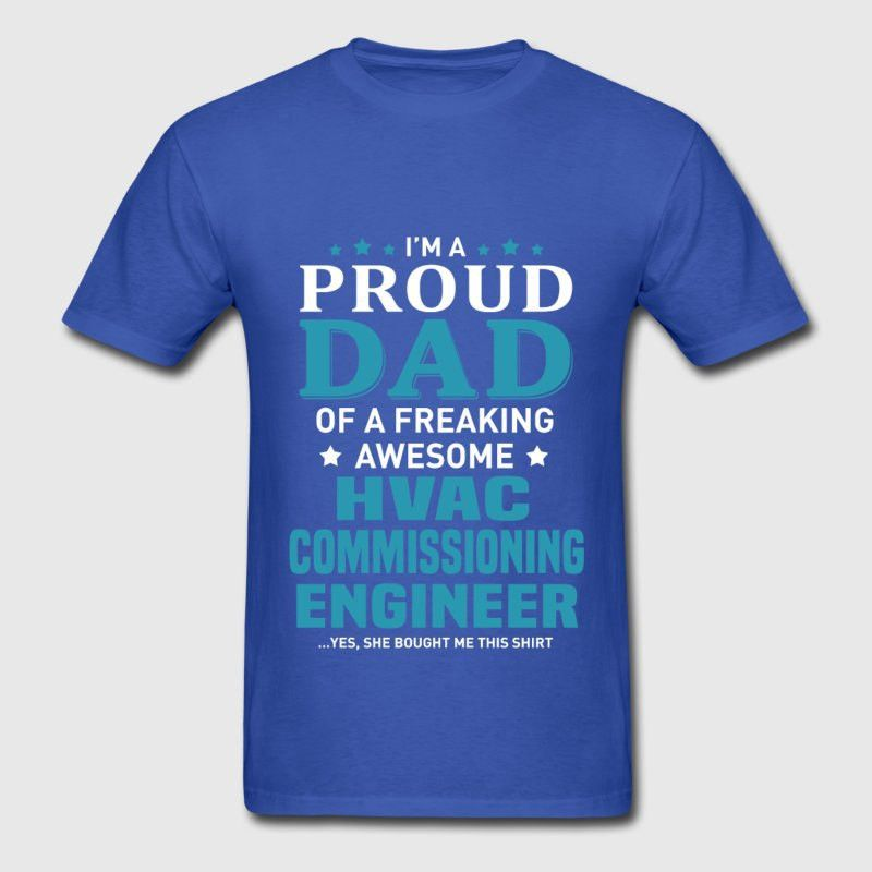 HVAC Commissioning Engineer T-Shirt | Spreadshirt