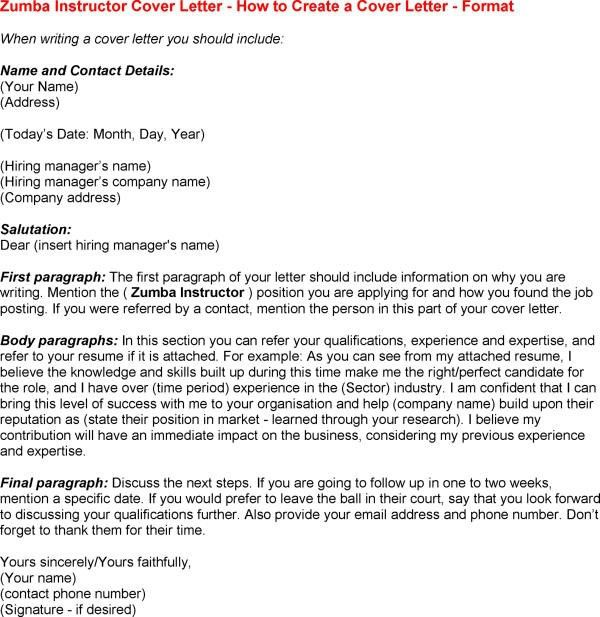 pilates instructor resume cover letter vosvetenet cover letter ...
