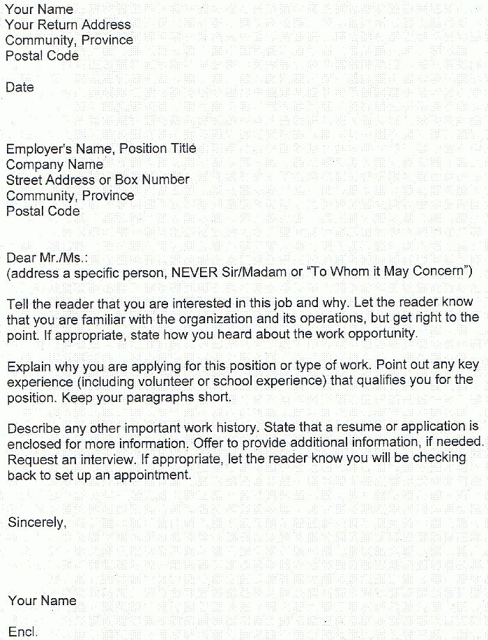 application examples cover letter cover letter for interview ...